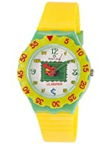 Maxima Analog White Dial Children's Watch - 04461PPKW