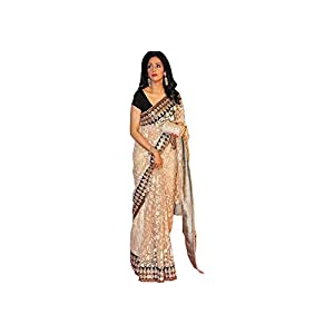 Bollywood Designer Sridevi Zal Net Fabric Saree