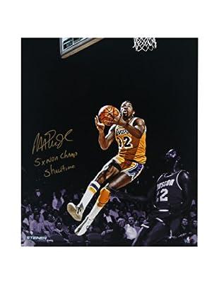 Steiner Sports Memorabilia Limited Edition Magic Johnson Signed Layup Photo