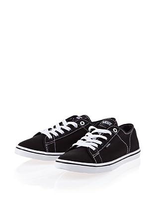 Vans Ferris Lo Pro VJW0GYW Damen Klassische Sneakers (Schwarz/Black/White)