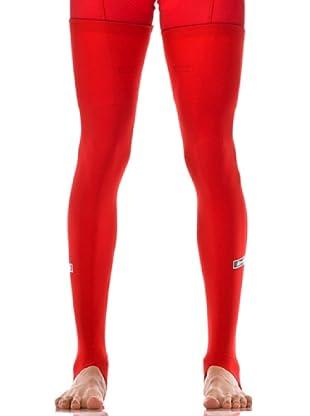 Santini Polainas Roubaix (Rojo)