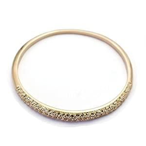 Swarovski Elements 18K Gold Plated Austrian Crystal Bracelet/ Bangle 1531905