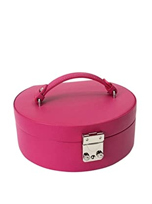 Morelle & Co. Linda Half Moon Jewelry Box, Raspberry