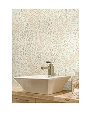 Dixon Forest Leaves Wallpaper, Beige