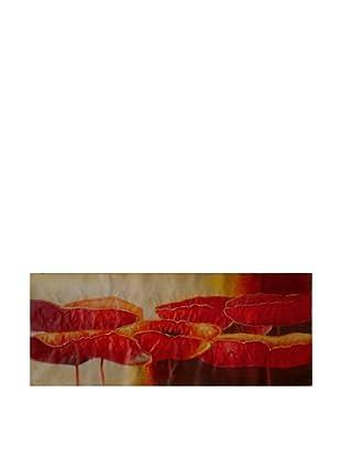 LegendArte  Wandbild Mohne