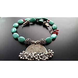 Dreamz Jewels Blue Turquoise Necklace