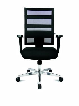 Topstar Bürodrehstuhl X-Pander inkl. Armlehnen (schwarz)