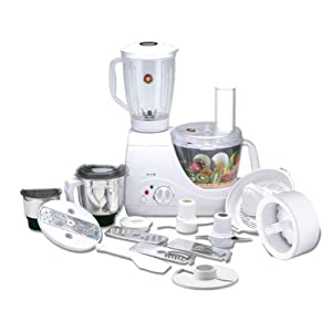Bajaj FX10 Food Processor-White