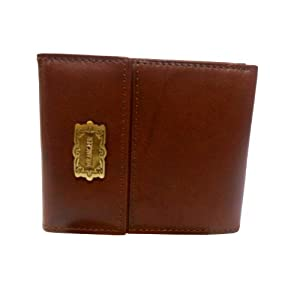 Wrangler Traditional flap style Genuine leather 3.5 inches Brown wallet