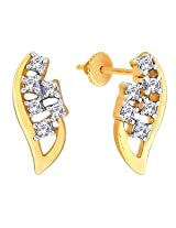 D'damas Gold & Diamond Earrings