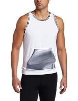 Vuthy Men's Kangaroo Round Neck Tank Shirt
