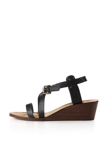Ash Women's Orchid Wedge Sandal (Black)