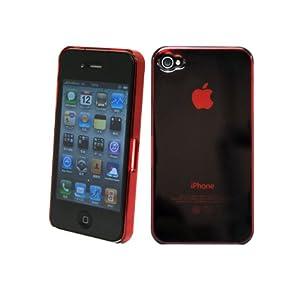 VariousGear iPhone4 ハードケース クリアレッド
