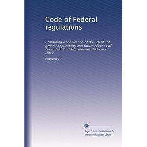 【クリックでお店のこの商品のページへ】Code of Federal regulations (Vol.5799) [ペーパーバック]