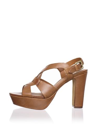 Ash Women's Cindy Platform Sandal (Camel)