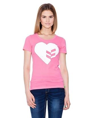 Gio Goi Camiseta Timptrak (rosado)