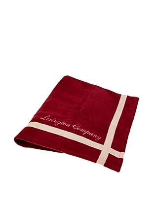 Lexington Company Colcha Lana (Rojo / Beige)