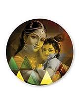 PosterGuy Yasodha And Krishna Graphic Illustration Fridge Magnet