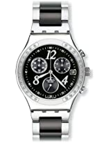 Swatch Analog Black Dial Men's Watch - YCS485G