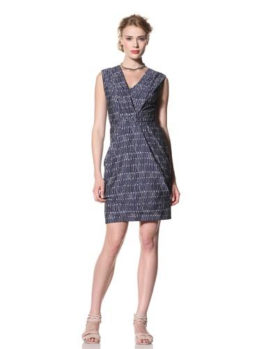 Eva Franco Women's Atticus V-Neck Draped Dress with Pockets (S.O.S.)