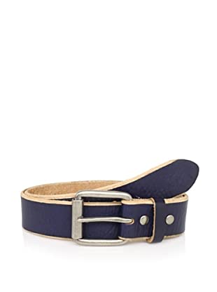 Bill Adler Men's Jelly Bean Belt (Navy)