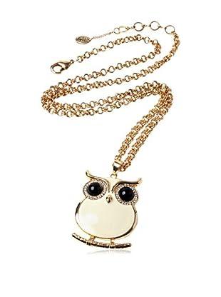 Amrita Singh Conjunto de cadena y colgante Miami Owl