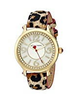 Betsey Johnson Women's BJ00524-03 Analog Display Quartz Multi-Color Watch