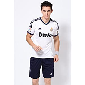 White Football Real Madrid T-shirt
