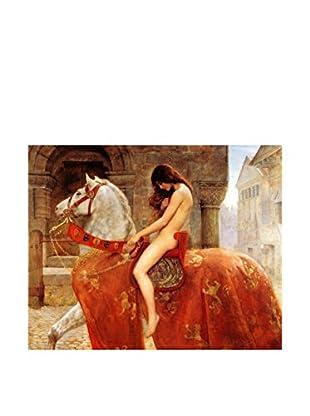 Legendarte Leinwandbild Lady Godiva di John Maler Collier