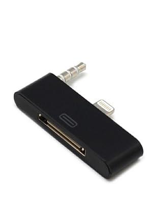 Unotec Conversor iPhone4 A iPhone5 Para Sistemas De Audio Docking Negro