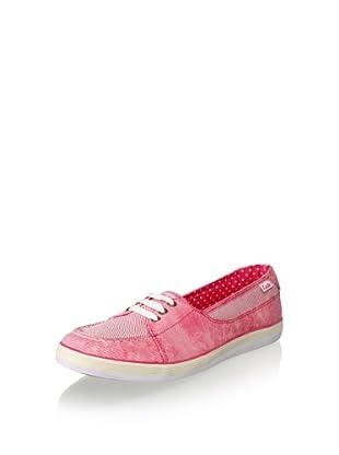 Keds Women's Beacon Boat Shoe (Raspberry)
