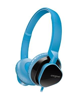 Creative Hitz MA2300 - Auriculares de diadema cerrados, color azul