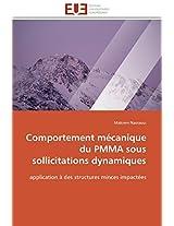 Comportement Mecanique Du Pmma Sous Sollicitations Dynamiques (Omn.Univ.Europ.)