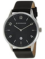 Giordano Analog Black Dial Men's Watch - 1630-01