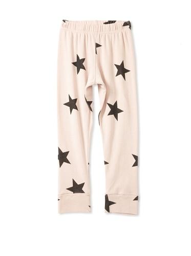 NUNUNU Kid's Star Leggings (Pink)