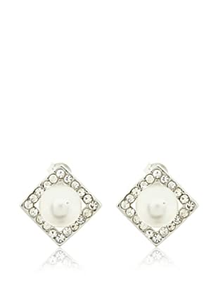 Vip de Luxe Pendientes Kentia Perla Blanca