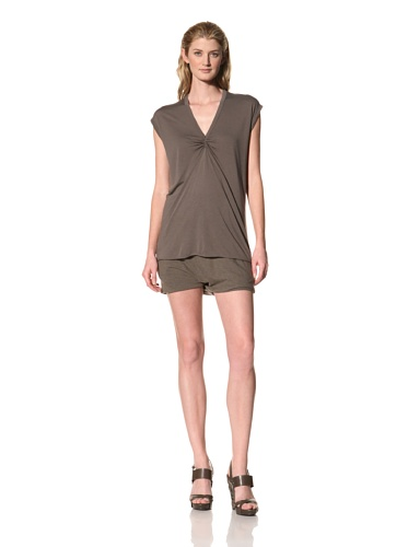 RICK OWENS Women's Cap Sleeve Top (Darkdust)