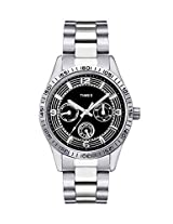Timex Analog Black Dial Women's Watch - TI000W20100