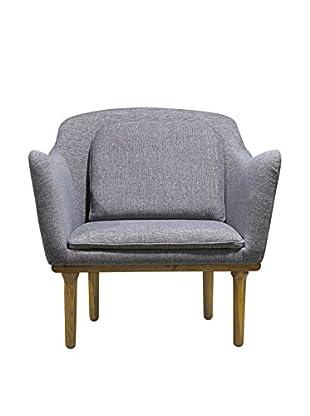 International Designs USA Divine Luxury Chair, Graphite