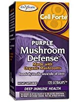 Enzymatic Therapy - Cell Forte Purple Mushroom, 120 capsules