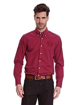 La Martina Camisa Hombre (Granate)