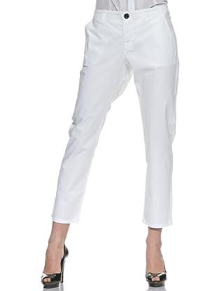 Stefanel Pantalone Boy Friends (Bianco)