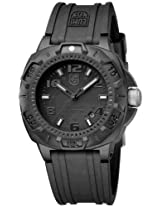 Luminox Blackout Rubber Strap Mens Watch 0201.Bo