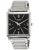 Timex Classics Analog Black Dial Men's Watch - TI000T20400