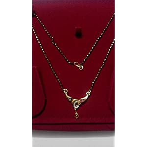 Single Line Mangalsutra with Pendant