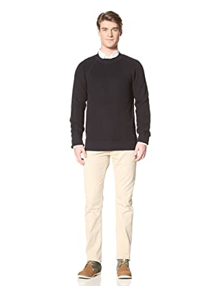 Ben Sherman Men's Round Neck Sweater (Rich Navy)