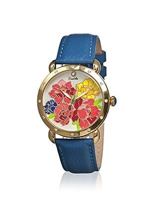 Bertha Women's BR3602 Angela Blue/Multicolor Leather Watch