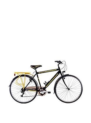Schiano Cicli Bicicleta 28 Trekking 3.0 06V Negro / Amarillo