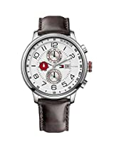 Tommy Hilfiger Tyler Tachymeter Analog White Dial Men's Watch TH1790858/D