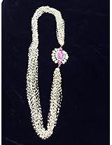 Designing Dreamz Pearl Chain Multistring Neckpiece